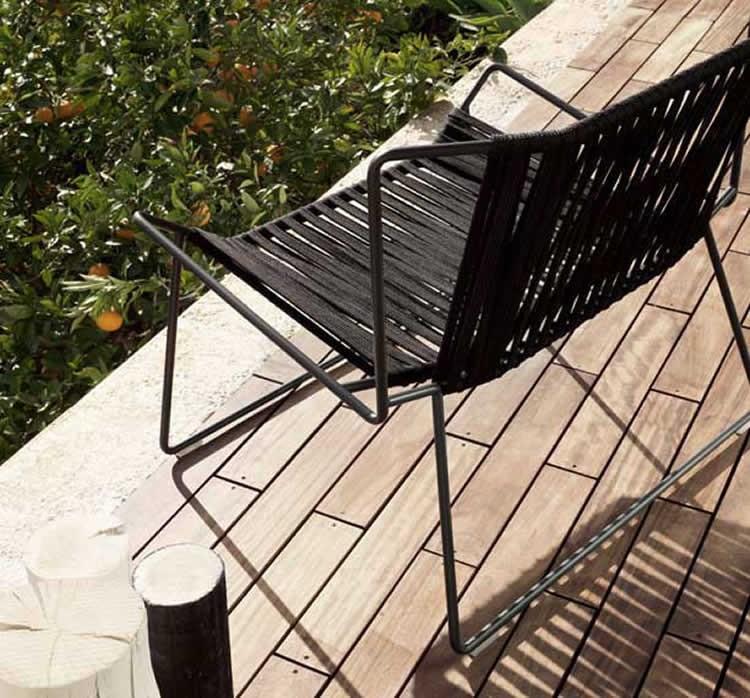 tipos de sillas exteriores