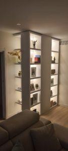 libreria luces led