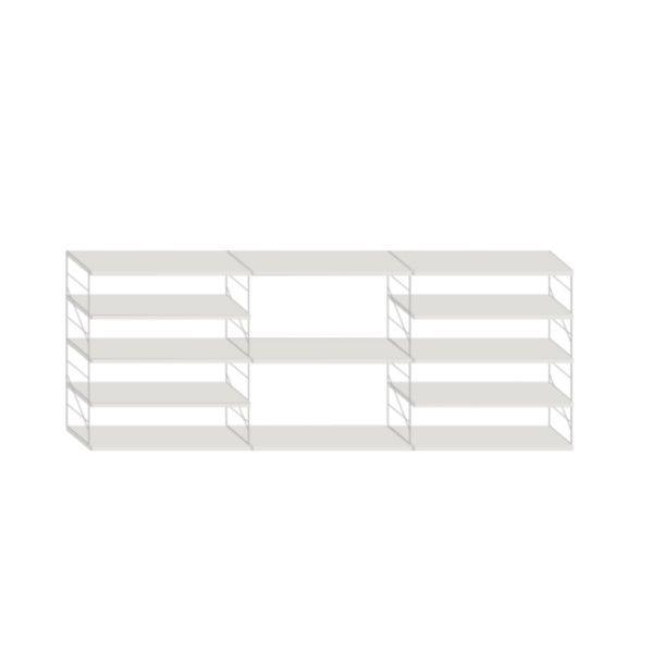 Libreria Tria Composicion 2 Marca Mobles 114
