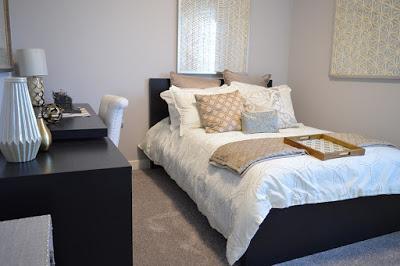 Mobiliario básico para el dormitorio de invitados