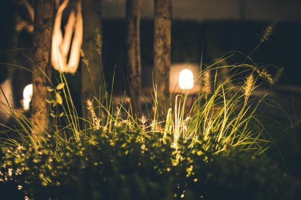 Iluminación decorativa para exteriores