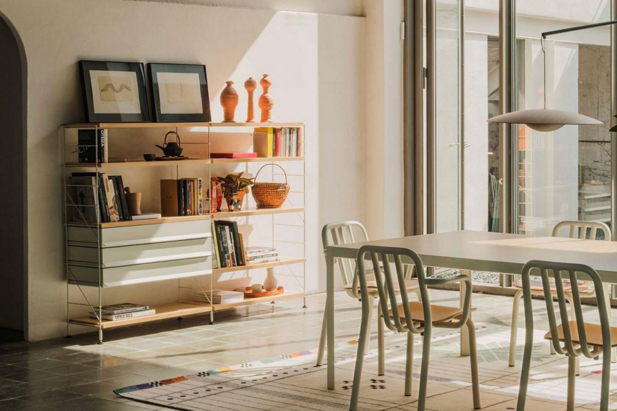 Las estanterías TRIA de Mobles 114