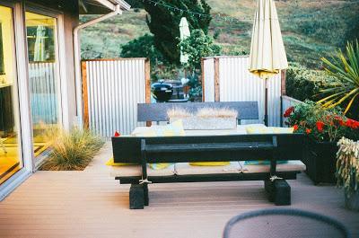 Muebles de exterior para espacios pequeños