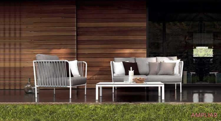 Claves de los muebles de diseño exterior