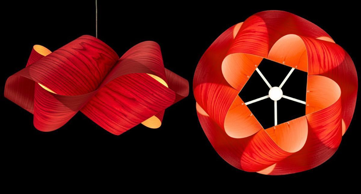 Lámparas en suspensión de gran elegancia