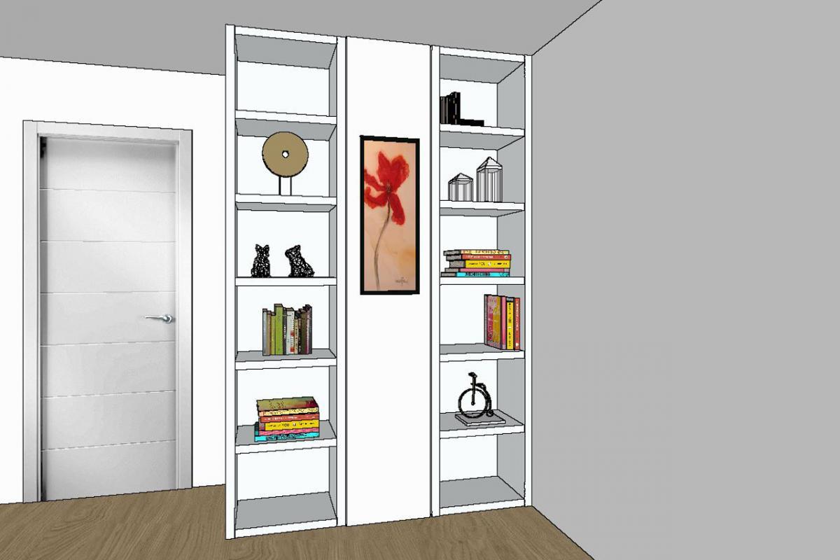 Nuevo proyecto realizado: librería a medida