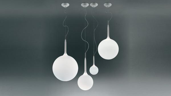 Las lámparas de diseño moderno de Artemide
