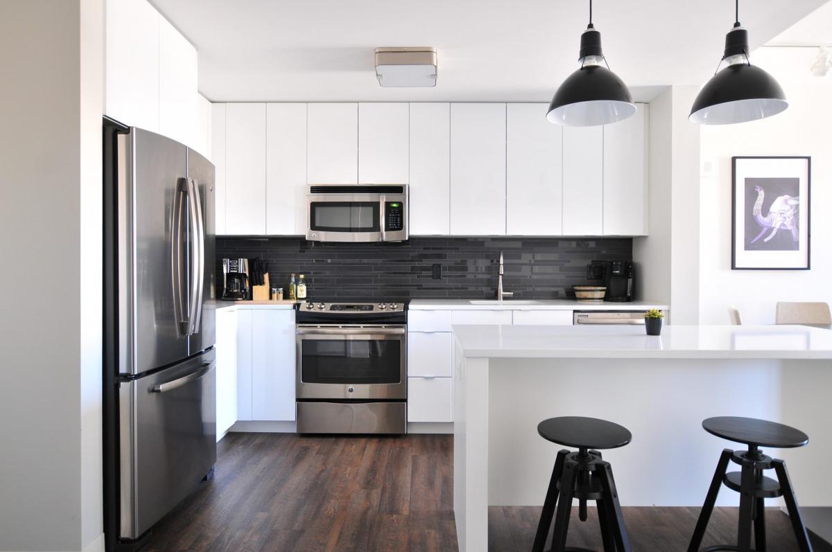 Cocinas de diseño con barra americana