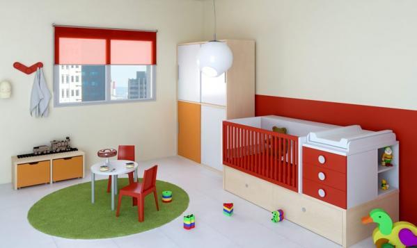 Habitaciones para bebés totalmente equipadas