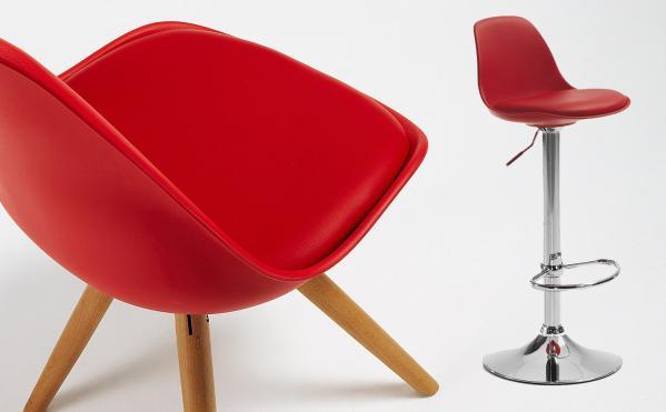 Complementos de diseño rojo para San Valentín