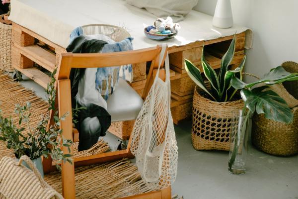 Por qué elegir la fibra natural en la decoración