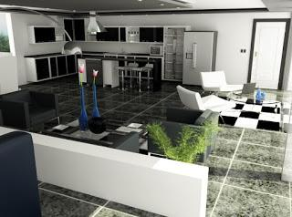 Proyecto 3D en el diseño de interiores